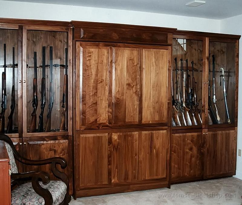 Custom wood gun cabinets pdf woodworking for Custom wood cabinets
